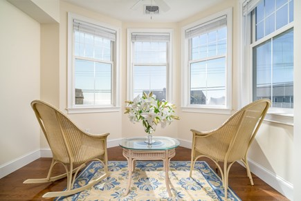 Dennis Port Cape Cod vacation rental - Ocean views from sitting area, King bedroom