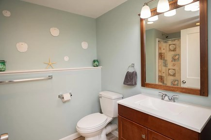 Eastham Cape Cod vacation rental - Bottom floor bathroom so no one has to wait for a shower!