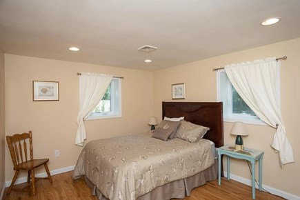 Eastham Cape Cod vacation rental - Bottom floor bedroom offers peace and quiet (and storage!)
