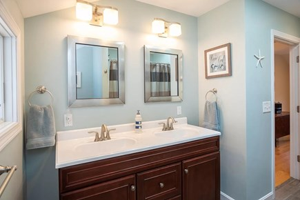 Eastham Cape Cod vacation rental - Double sinks in addition to full bath / shower on the first floor