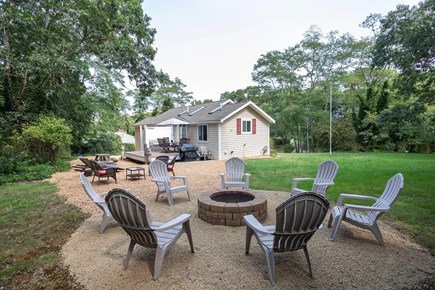 Eastham Cape Cod vacation rental - Fire pit and large outdoor area for a full day of activities