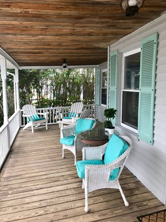 Onset MA vacation rental - Relax on the porch with a book or enjoy the company of others.