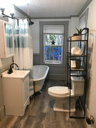 Onset MA vacation rental - Updated bathroom with modern conveniences while maintaining charm