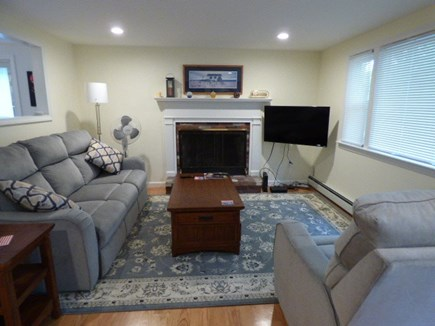 South Dennis Cape Cod vacation rental - Other view of comfy living room
