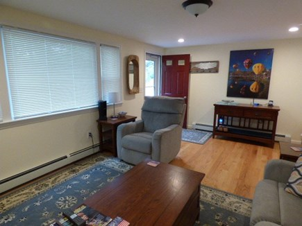 South Dennis Cape Cod vacation rental - Entrance and Living room