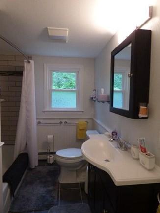 South Dennis Cape Cod vacation rental - Newly renovated full bath in hallway