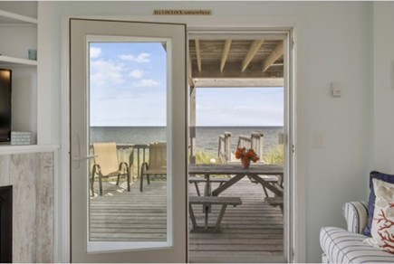 East Sandwich Cape Cod vacation rental - View from the kitchen table