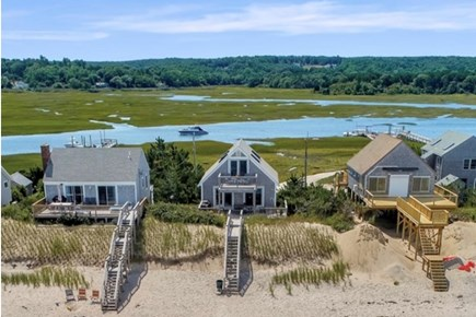 East Sandwich Cape Cod vacation rental - Home is surrounded by water views and access to private beach