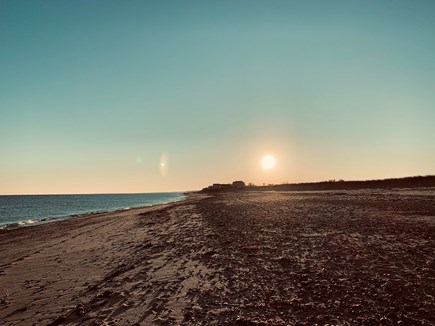 East Sandwich Cape Cod vacation rental - Sunrise at the beach