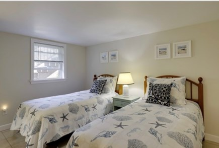 East Sandwich Cape Cod vacation rental - Lower level bedroom #1 with 2 - twin beds