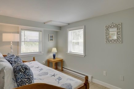 East Sandwich Cape Cod vacation rental - Lower level bedroom #2 with twin pullout trundle bed