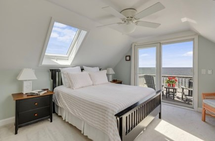 East Sandwich Cape Cod vacation rental - 3rd floor master bedroom - Queen