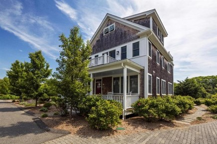 Provincetown Cape Cod vacation rental - Front entrance to home