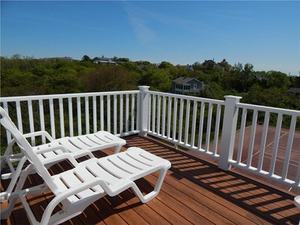 Provincetown Cape Cod vacation rental - Gorgeous deck with 360 views of the woodlands and the ocean