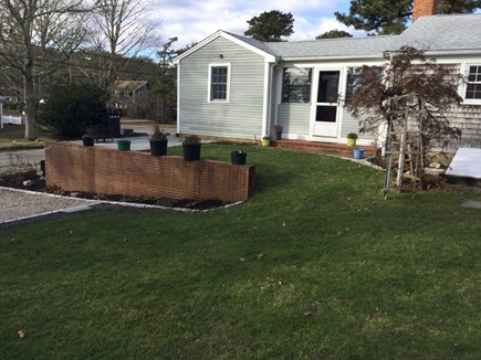 Harwich Center Cape Cod vacation rental - Spacious, beautifully landscaped back yard