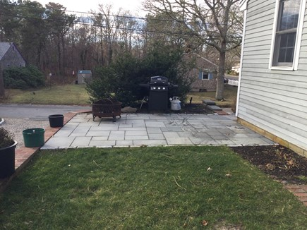 Harwich Center Cape Cod vacation rental - Patio with BBQ grill