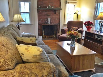 Harwich Center Cape Cod vacation rental - Comfortable living room