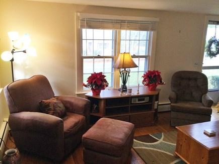 Harwich Center Cape Cod vacation rental - Living room and entrance