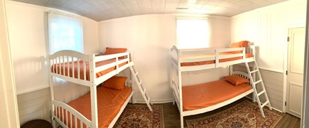 Falmouth Cape Cod vacation rental - Bunk room with views of Little Pond