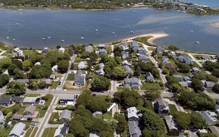 Falmouth Cape Cod vacation rental - Great Pond public beach area 1-2 min at the end of Boston St!