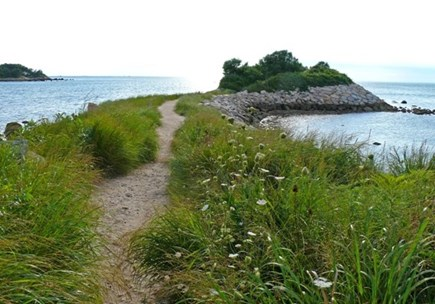Woods Hole, Quissett Harbor Woods Hole vacation rental - The Knob is part of your view and is a popular walking spot.