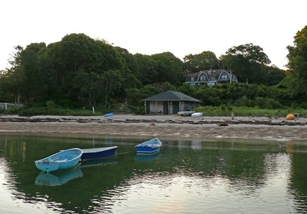 Woods Hole, Quissett Harbor Woods Hole vacation rental - On your beach, the sand goes forever and the water is warm.