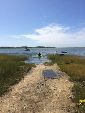 Wellfleet Cape Cod vacation rental - Town Landing for Kayaking.