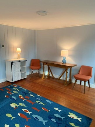 Wellfleet Cape Cod vacation rental - Cozy dinners for two or fold out dining table for 6.
