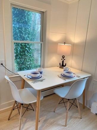 Wellfleet Cape Cod vacation rental - Breakfast anyone? Little table in Kitchen.