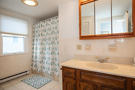 Dennis, Mayflower Beach Cape Cod vacation rental - Second floor bathroom upstairs on left side