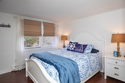 Dennis, Mayflower Beach Cape Cod vacation rental - Bedroom #1 with Queen size bed  (upstairs on left side)