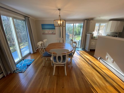 Osterville Cape Cod vacation rental - Bright kitchen with views of the backyard