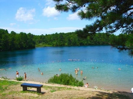 Osterville Cape Cod vacation rental - Joshua's Pond is a 3 minute stroll from the house