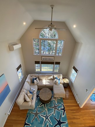 Osterville Cape Cod vacation rental - Great room with comfortable seating and lots of light