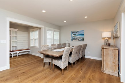 Dennis Village-Mayflower Beach Cape Cod vacation rental - Dining Table that sits 12