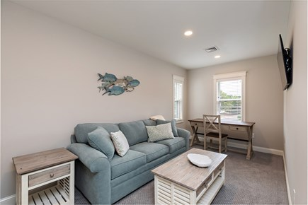 Dennis Village-Mayflower Beach Cape Cod vacation rental - Second floor Chill room with pull out & TV