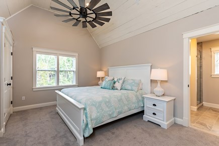 Dennis Village-Mayflower Beach Cape Cod vacation rental - Second floor bunkroom #2 with King bed, and bunk & trundle