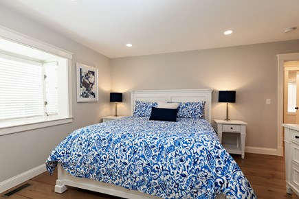 Dennis Village-Mayflower Beach Cape Cod vacation rental - First floor master suite with king bed & private full bathroom