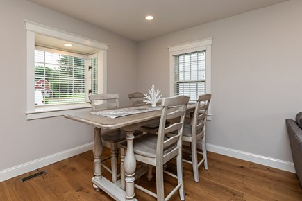 Dennis Village-Mayflower Beach Cape Cod vacation rental - Dining room table with 6 chairs