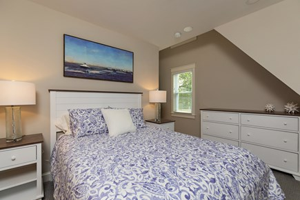 Dennis Village-Mayflower Beach Cape Cod vacation rental - Master bedroom with TV