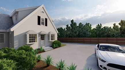 Dennis Village-Mayflower Beach Cape Cod vacation rental - Front of house rendering