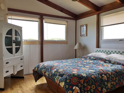 Truro Cape Cod vacation rental - Master Bedroom.  Faces east.  Queen bed