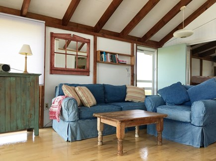 Truro Cape Cod vacation rental - Relax in the cozy living room.