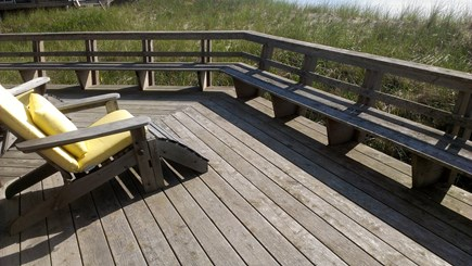 Truro Cape Cod vacation rental - Enjoy the beach while relaxing on the deck.