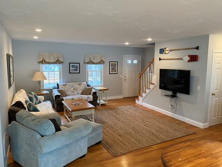 West Yarmouth (Seagull Beach) Cape Cod vacation rental - Living room next to dining area.