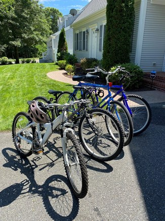 West Yarmouth (Seagull Beach) Cape Cod vacation rental - Beach bikes provided for short ride to Seagull beach.