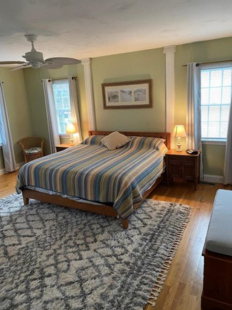West Yarmouth (Seagull Beach) Cape Cod vacation rental - Master Bedroom with new king-sized bed.