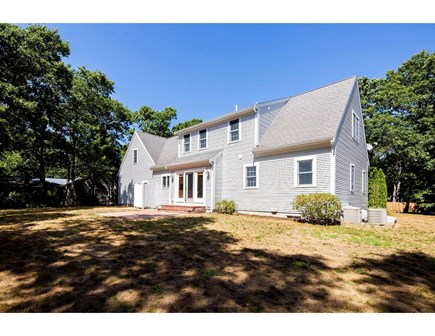 West Yarmouth (Seagull Beach) Cape Cod vacation rental - Large backyard, with new 350 sf Azek deck to be built March 2021.