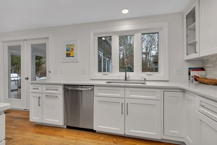Dennis Cape Cod vacation rental - Kitchen has all new appliances.
