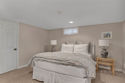 Dennis Cape Cod vacation rental - Basement bedroom with Queen bed.